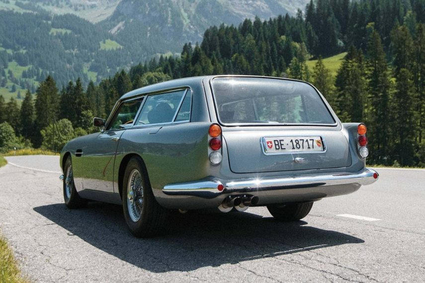 Próximamente tendrás la oportunidad de comprar un Aston Martin DB5 Shooting Brake