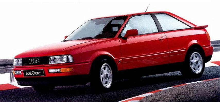 Coche del día: Audi Coupé quattro 20v (8B)