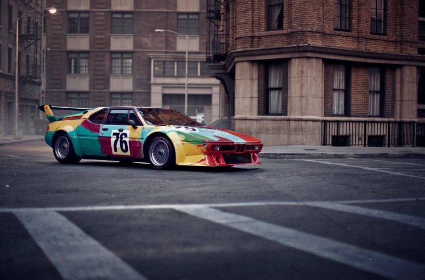 El BMW M1 Art Car de Andy Warhol conmemora su 40 cumpleaños