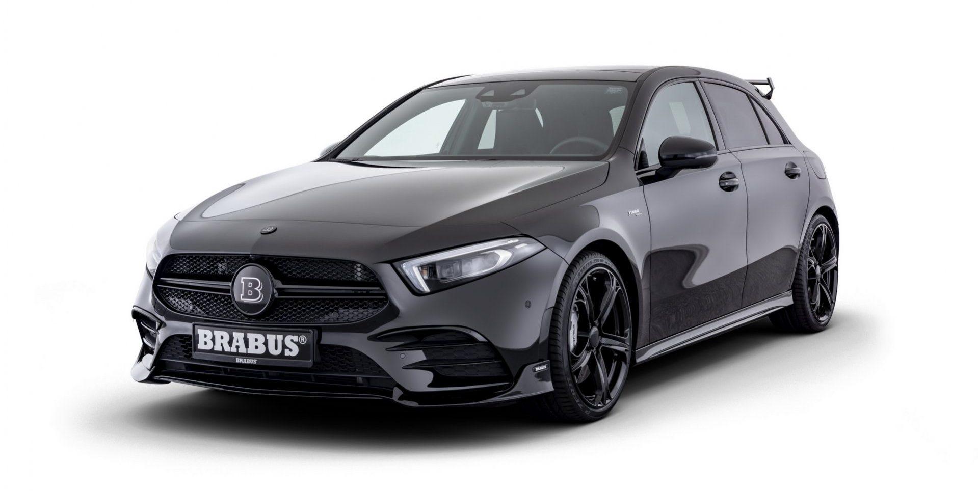 Brabus B35 y B35 S, más potencia para el Mercedes-AMG A35