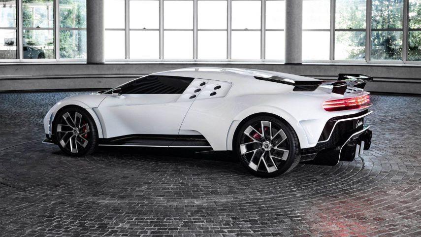 El Bugatti Centodieci de 1.600 CV se presenta en sociedad