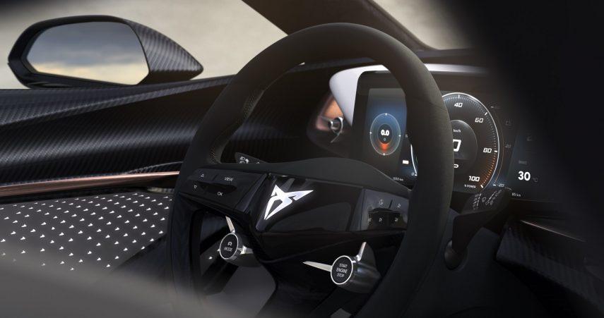 CUPRA nos muestra el interior de su primer vehículo eléctrico