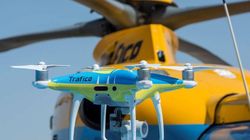 """La DGT añade los drones a su """"arsenal"""" desde hoy"""