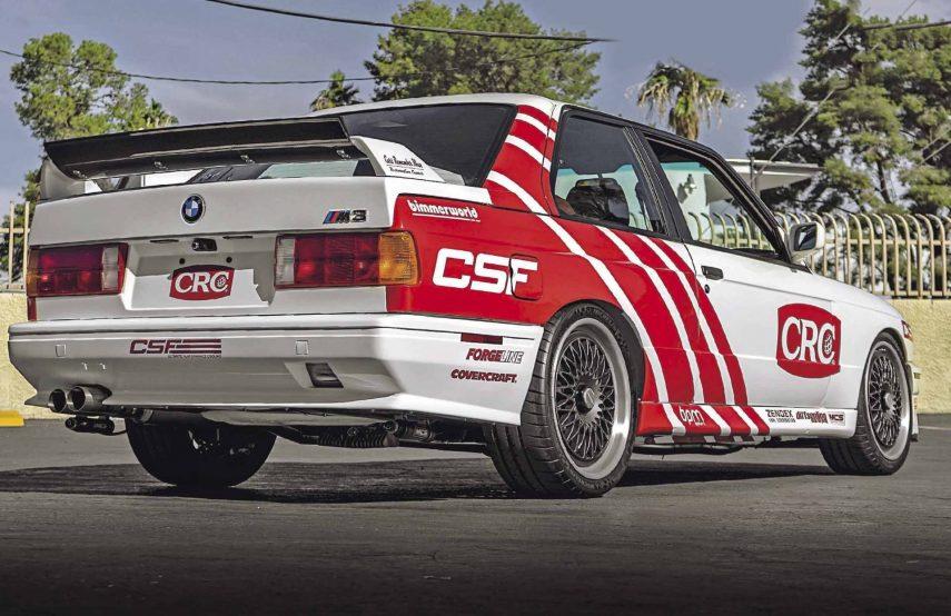 Este es el mejor cambio de motor que verás en un BMW M3 E30