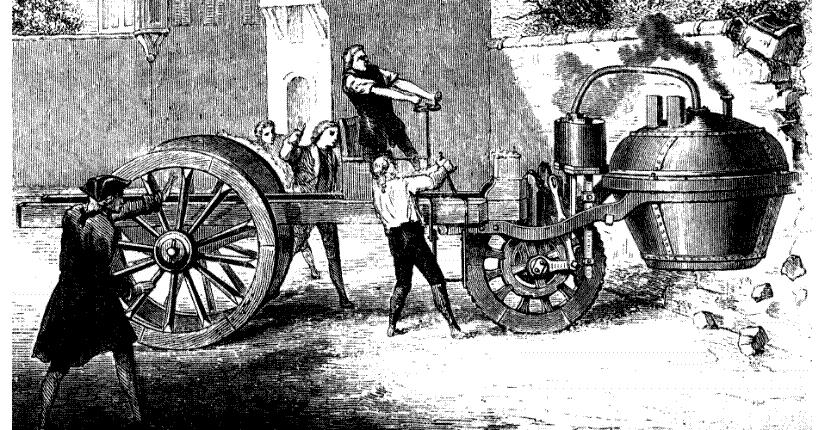 El triciclo de vapor de Cugnot cumple 250 años