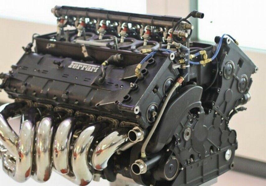 ¿Qué harías con el motor V12 de un Ferrari de Fórmula 1?