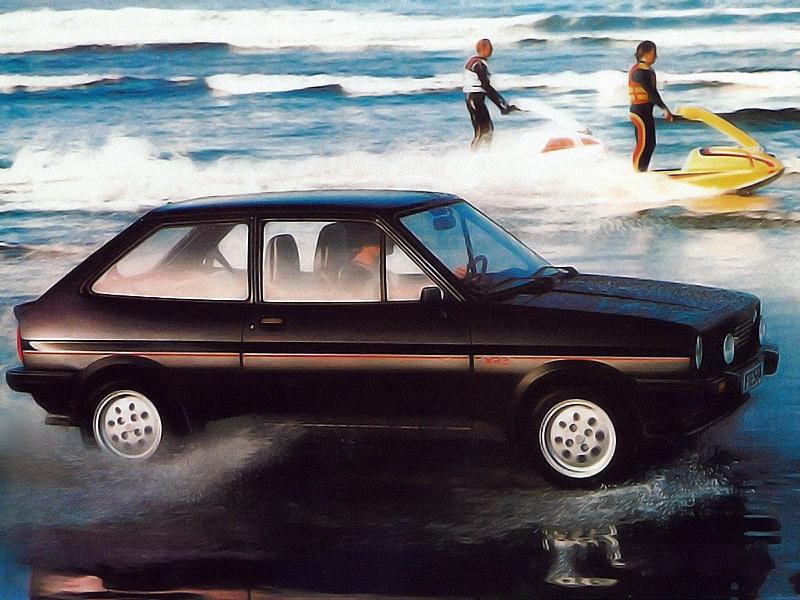 Ford Fiesta XR2 2