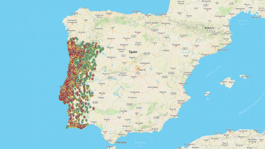 Una de cada cuatro gasolineras portuguesas tiene problemas para servir combustible