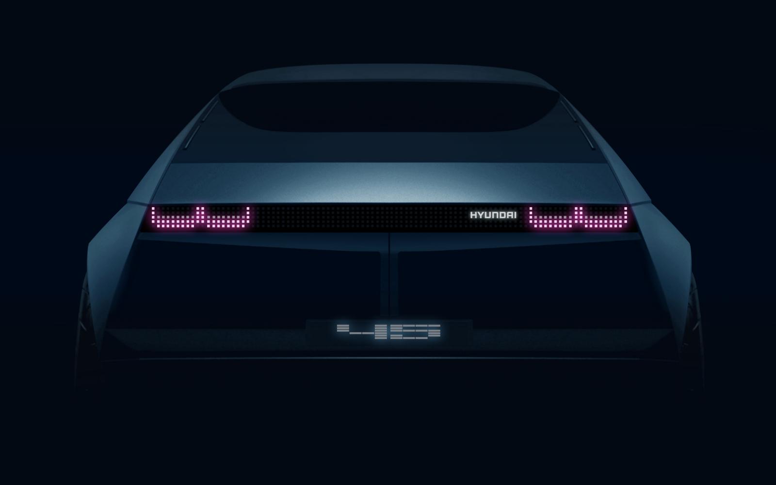 『45』, el prototipo eléctrico que Hyundai presentará en Frankfurt