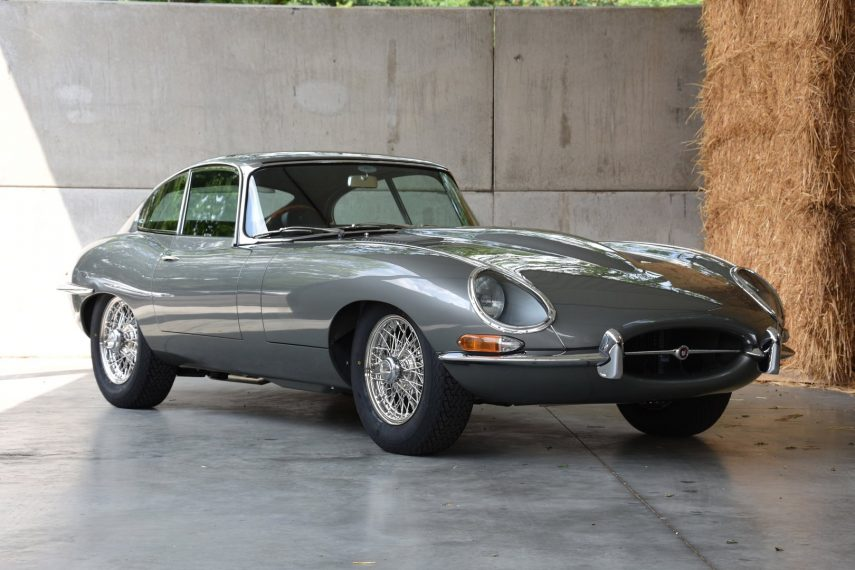Espectacular restauración del décimo Jaguar E-Type 4.2