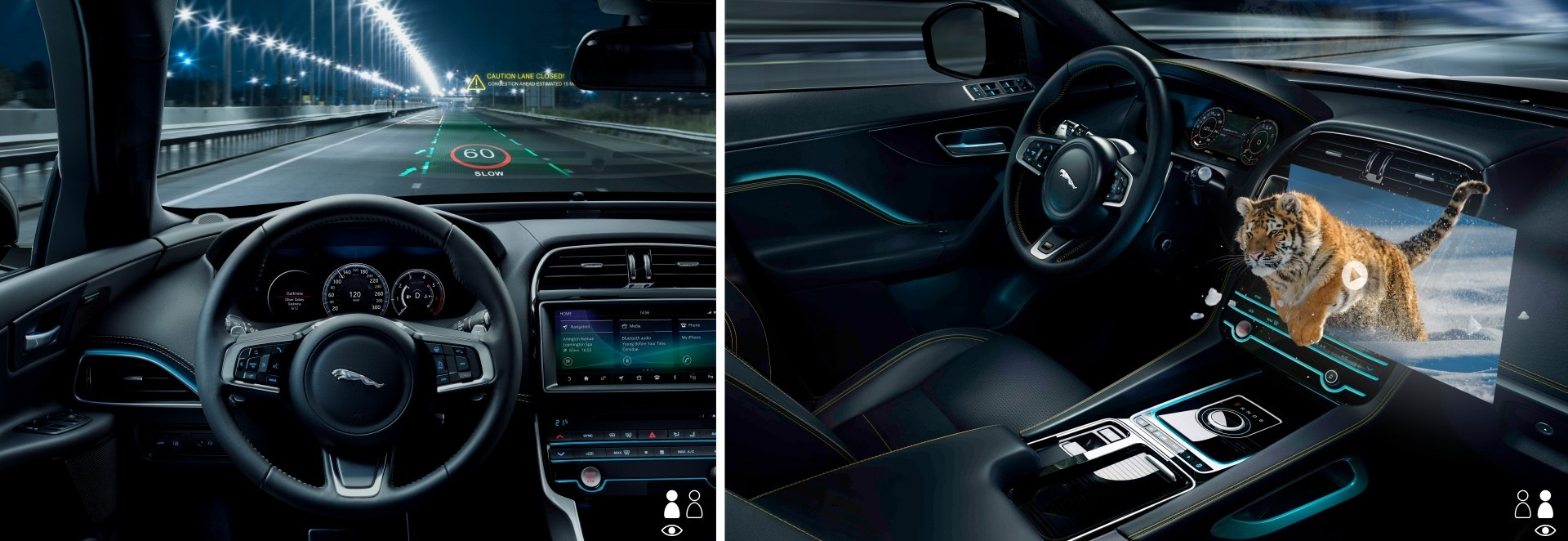 Jaguar Land Rover está desarrollado un HUD en 3D