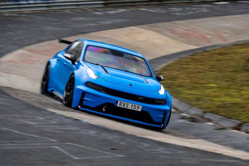 El Lynk & Co 03 es el sedán y el tracción delantera más rápido de Nürburgring