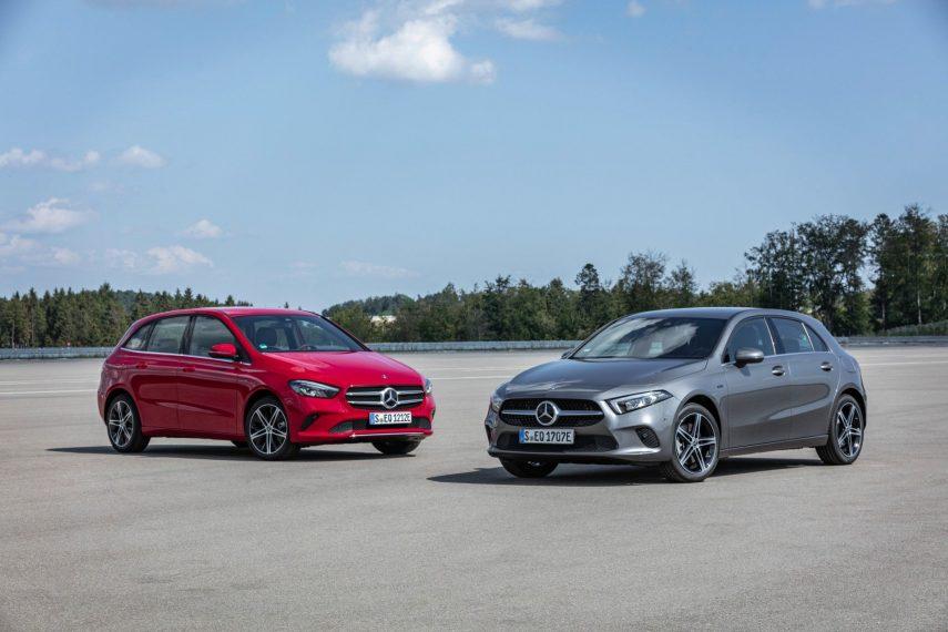 Mercedes-Benz A 250 e y B 250 e, los híbridos enchufables más pequeños de la casa