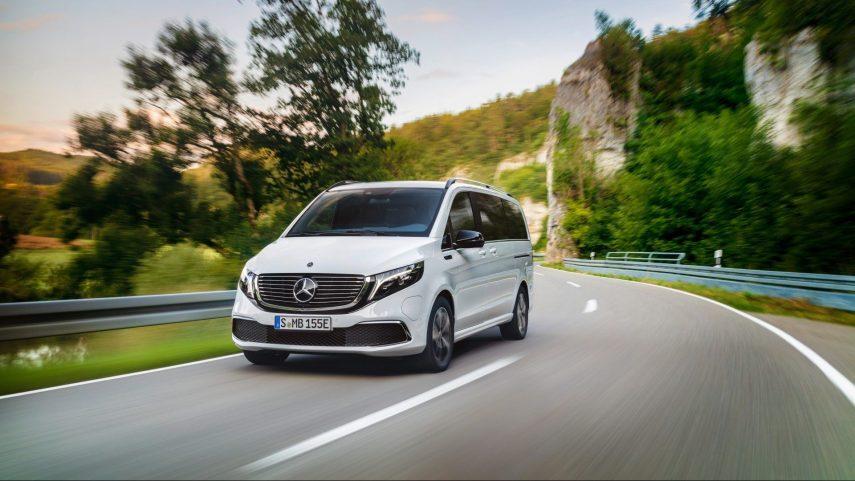Mercedes-Benz EQV: 204 CV, 405 km de autonomía y hasta 8 plazas