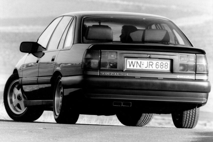 Coche del día: Opel Senator Irmscher 4.0i (B)