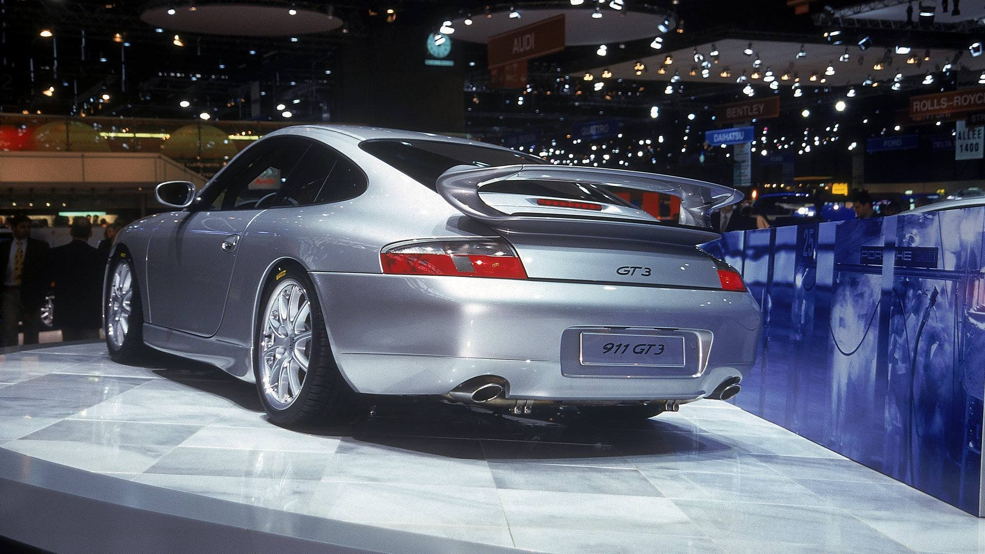Porsche 911 GT3 996 Salon Ginebra 1999