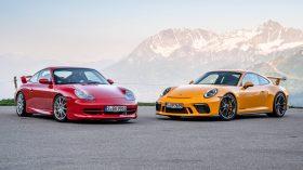 Porsche 911 GT3 996 y 991 1