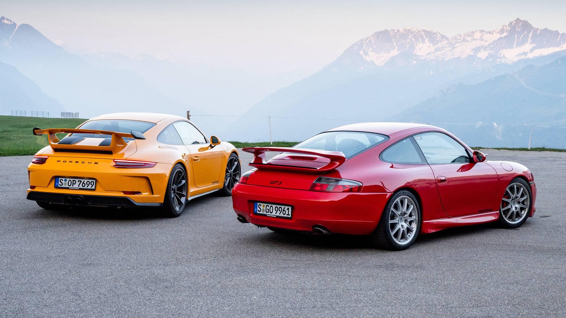 Porsche 911 GT3 996 y 991 2