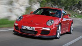 Porsche 911 GT3 997 rojo frontal 2009