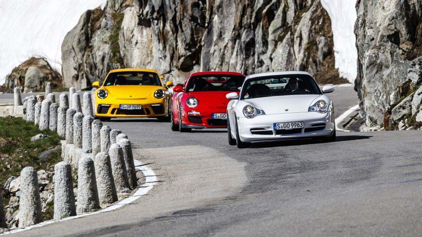 Porsche 911 GT3, 20 años de máxima deportividad