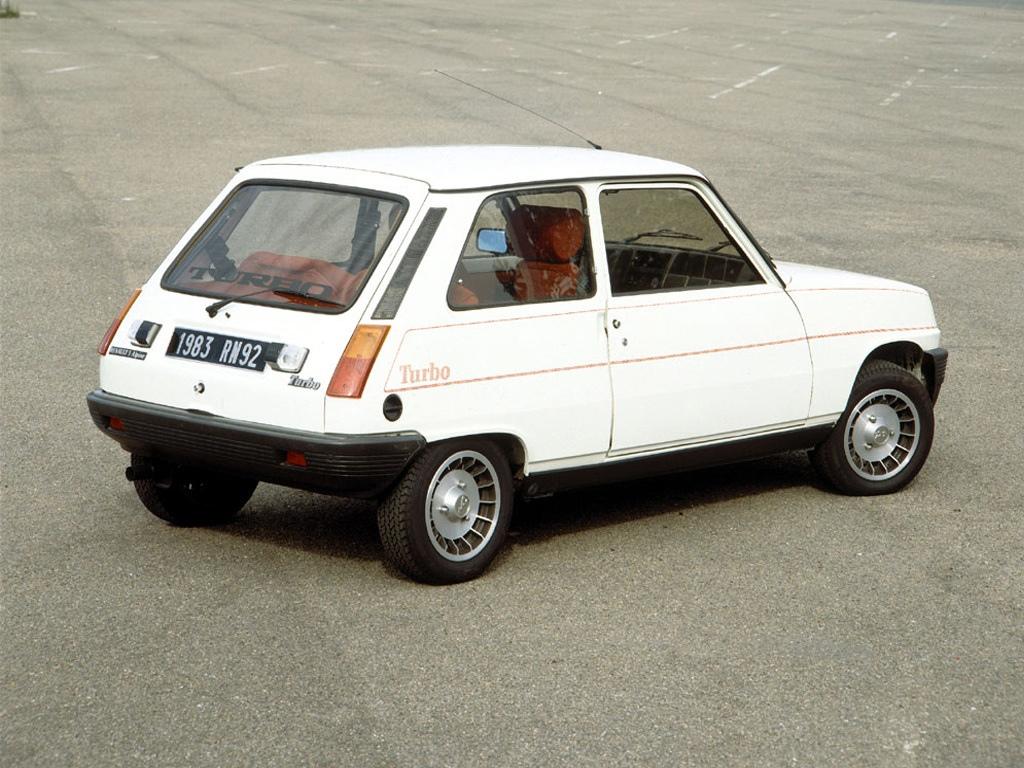 Renault 5 Alpine Turbo 1
