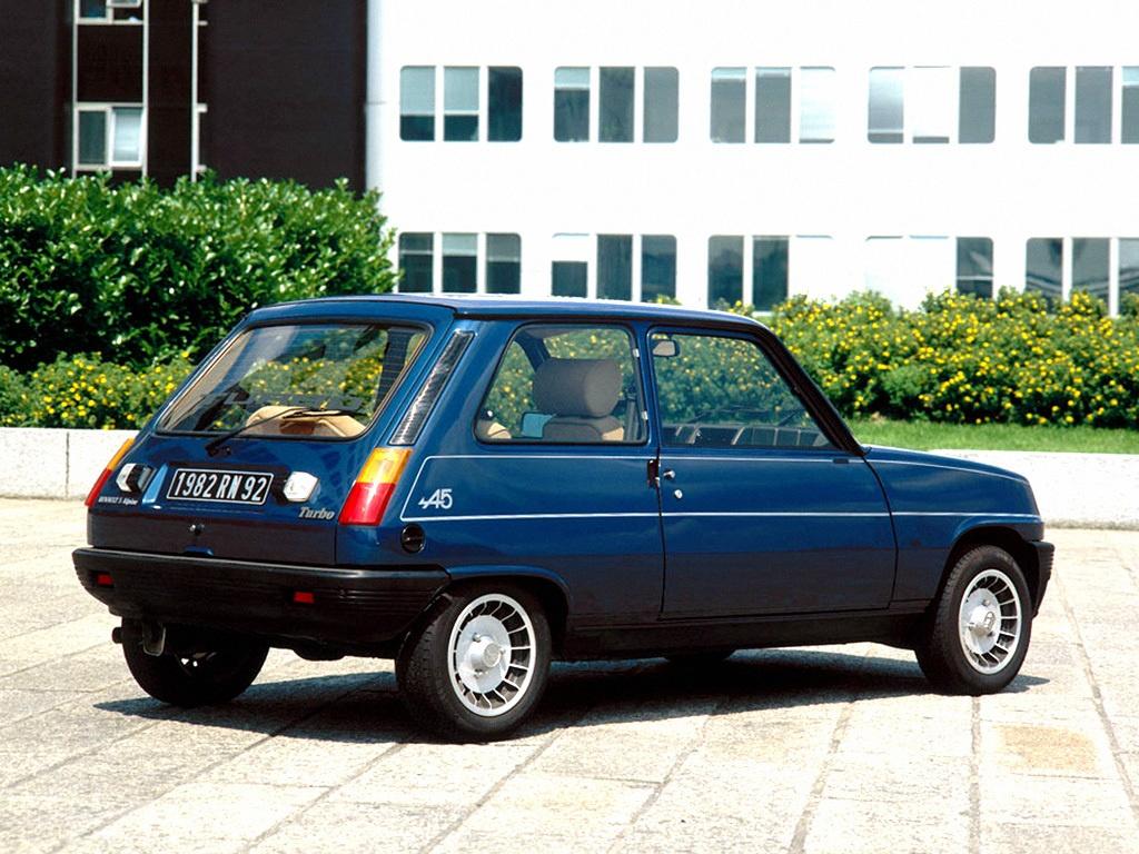 Renault 5 Alpine Turbo 4