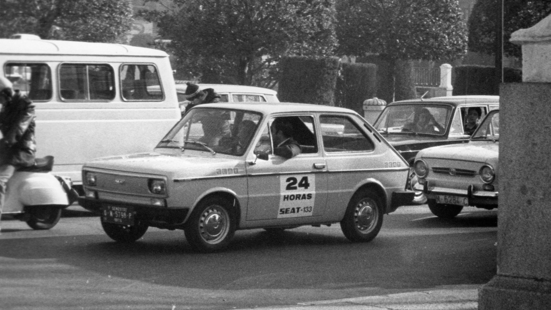 SEAT 133 24 horas 1976