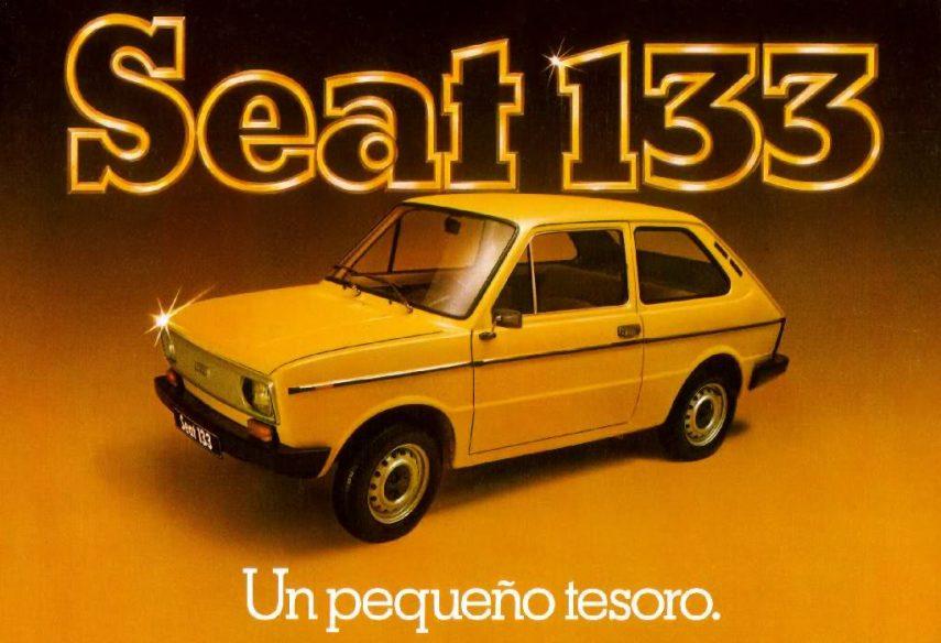 Coche del día: SEAT 133 Especial