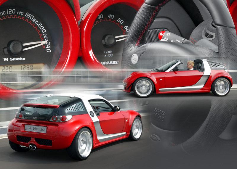 smart roadster BRABUS V6 biturbo 4