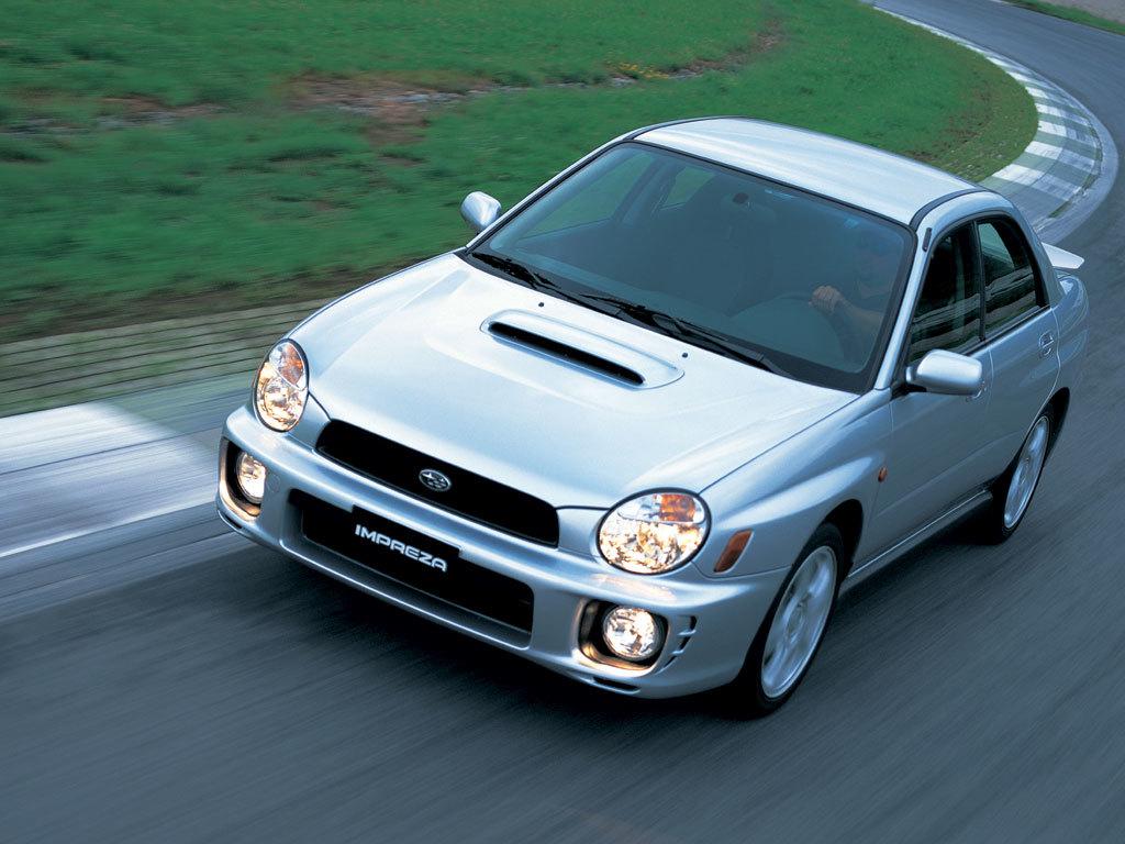Coche del día: Subaru Impreza WRX (GDB)