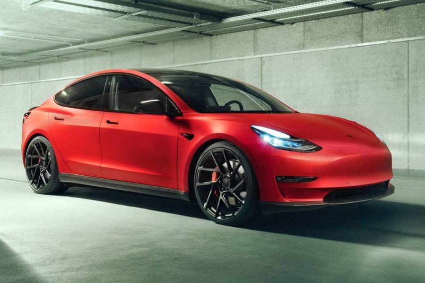 Novitec mete mano al Tesla Model 3