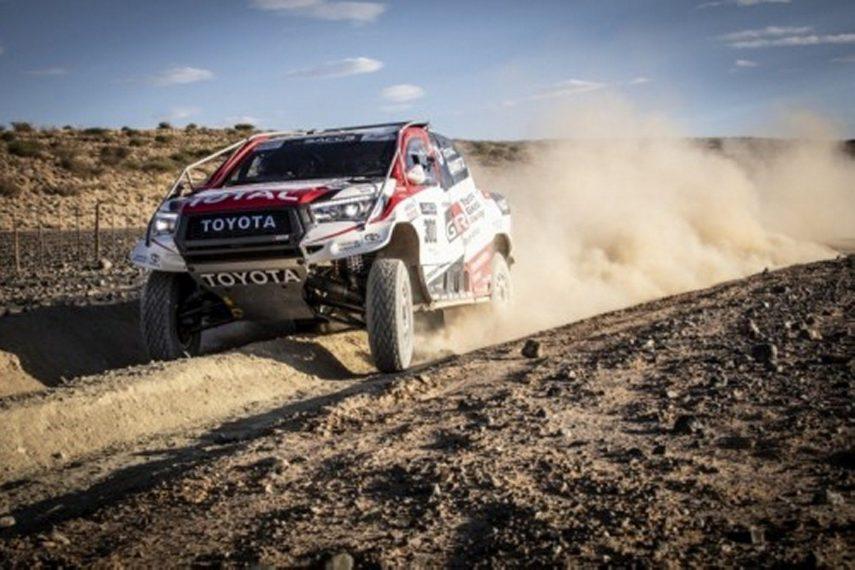 Fernando Alonso se prepara para el Rally Dakar 2020 con Toyota