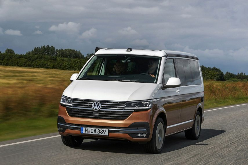Así se presenta la renovada Volkswagen California 6.1