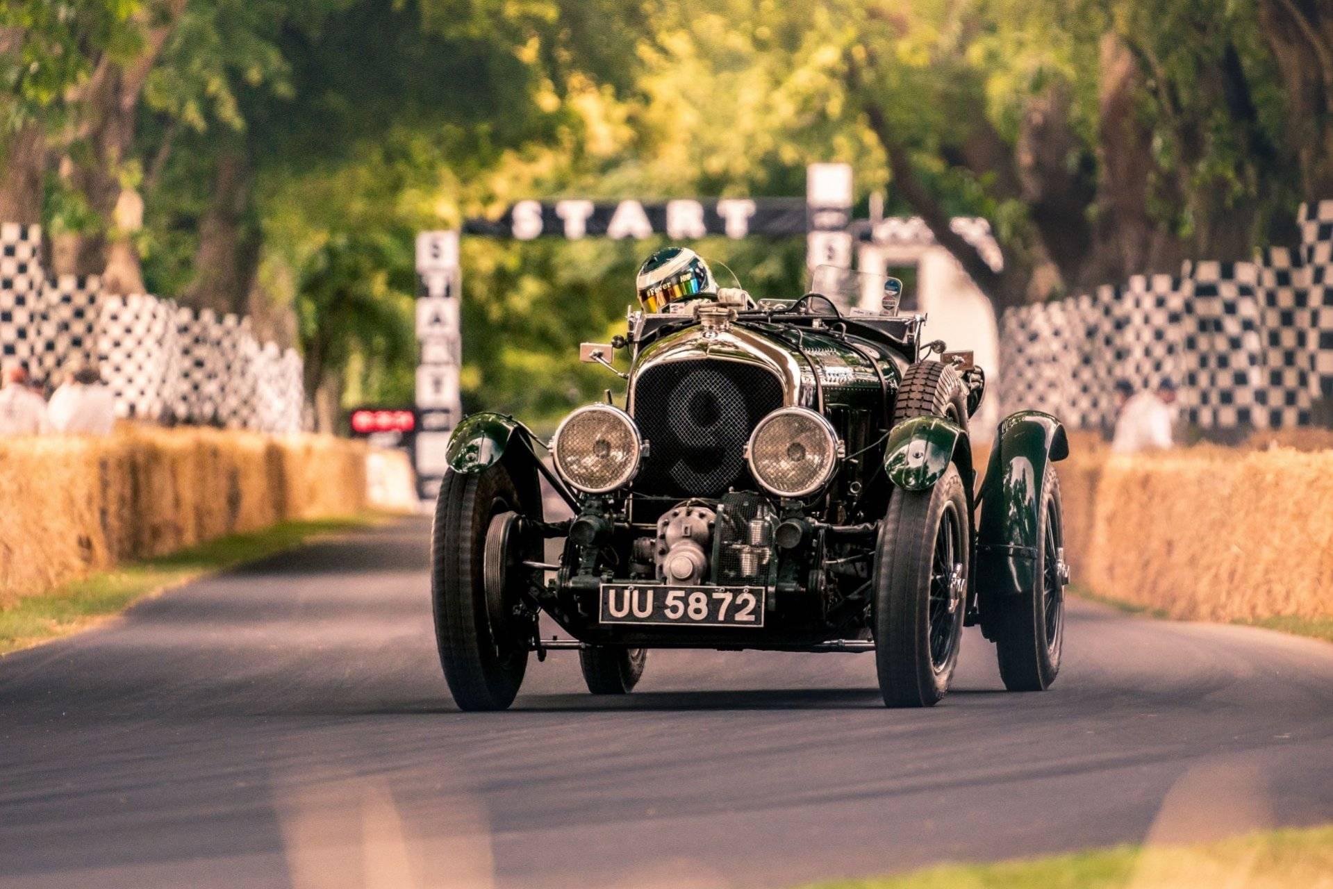 El mítico Bentley Blower de 1929 se pasa al mundo digital