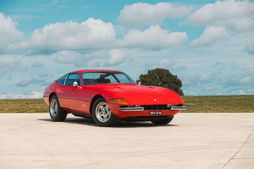 Este precioso Ferrari 365 GTB/4 será subastado a finales de mes