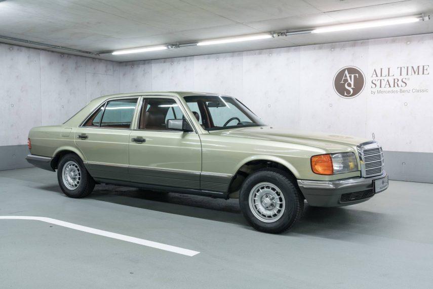 Tal vez este sea el mejor Mercedes-Benz 280 SE (W126) que puedas comprar