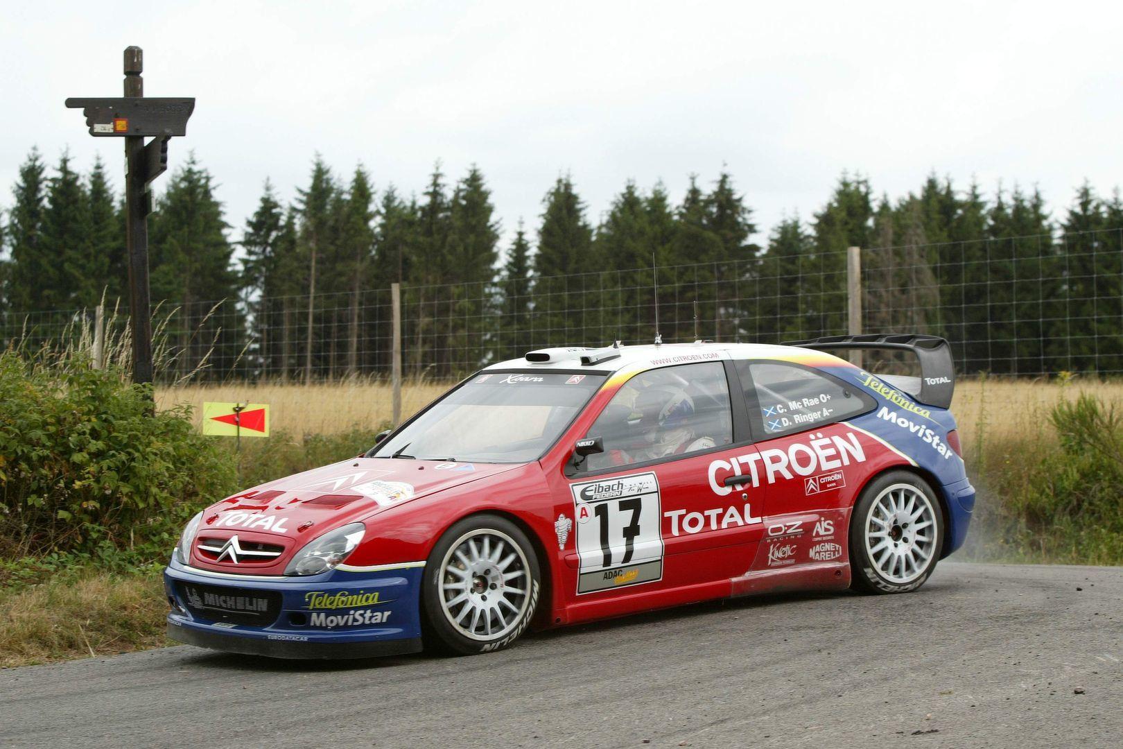 Citroen Xsara WRC 2003 Colin McRae Rally de Alemania