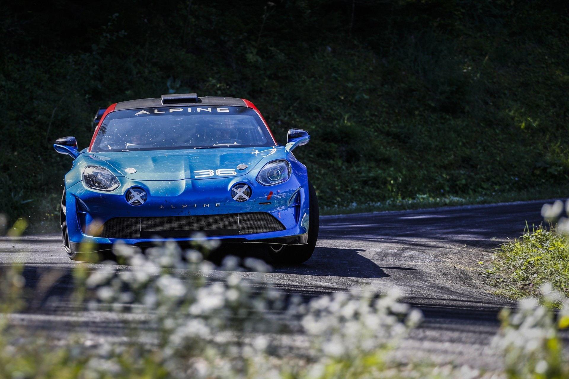 Alpine A110 Rally, listo para enfrentarse a Porsche y Abarth