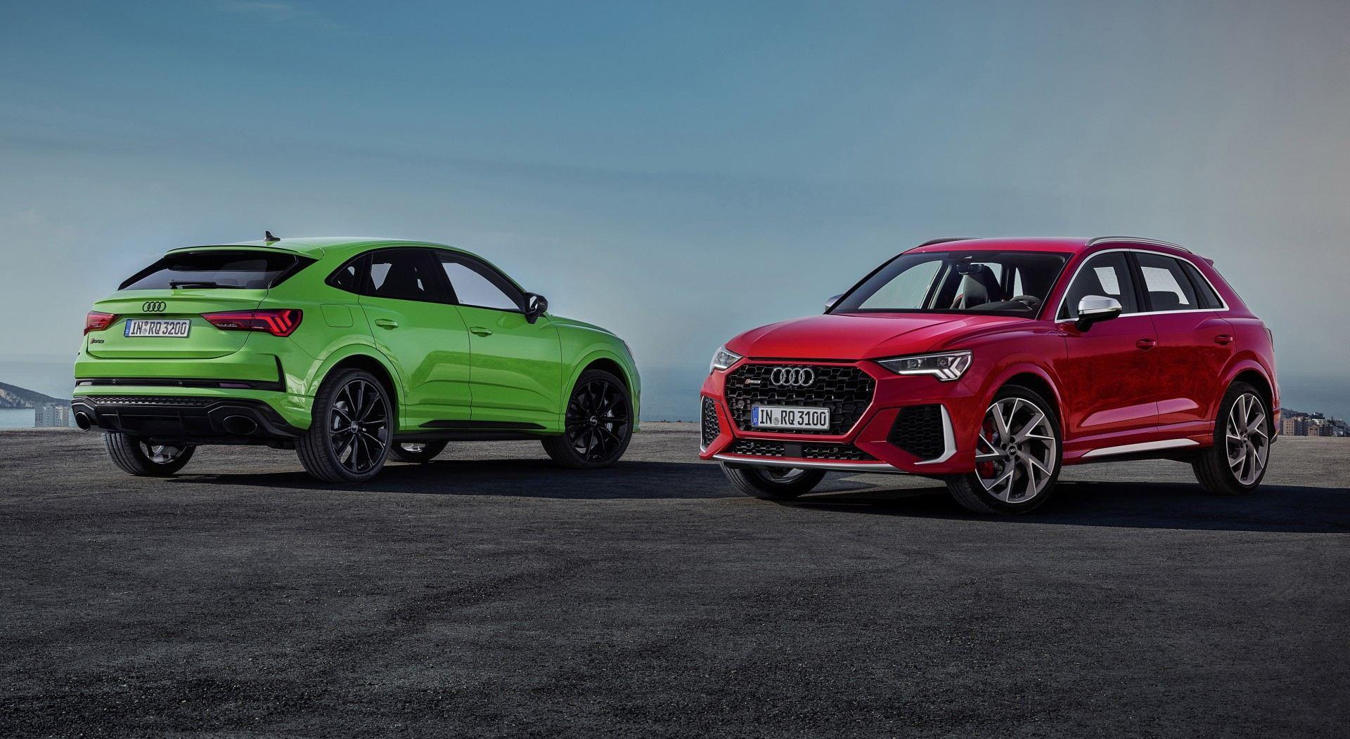 Audi RS Q3 y RS Q3 Sportback 2020, los SUV más potentes del segmento
