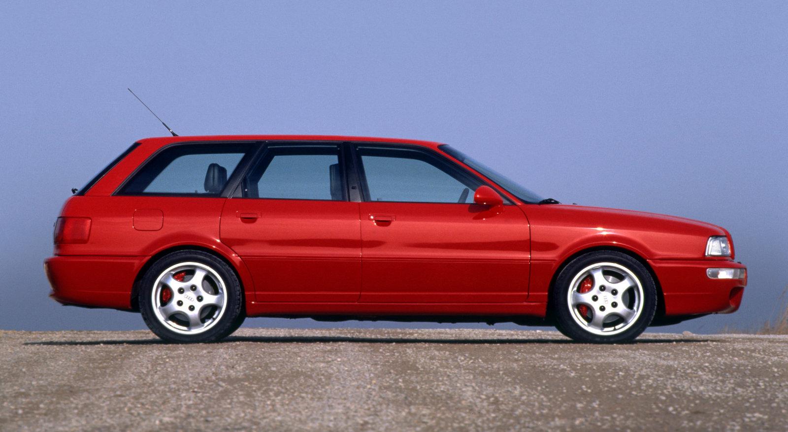 Coche del día: Audi RS2 (B4)
