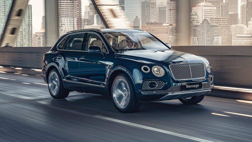 Bentley Bentayga híbrido enchufable, con etiqueta ECO y 450 CV