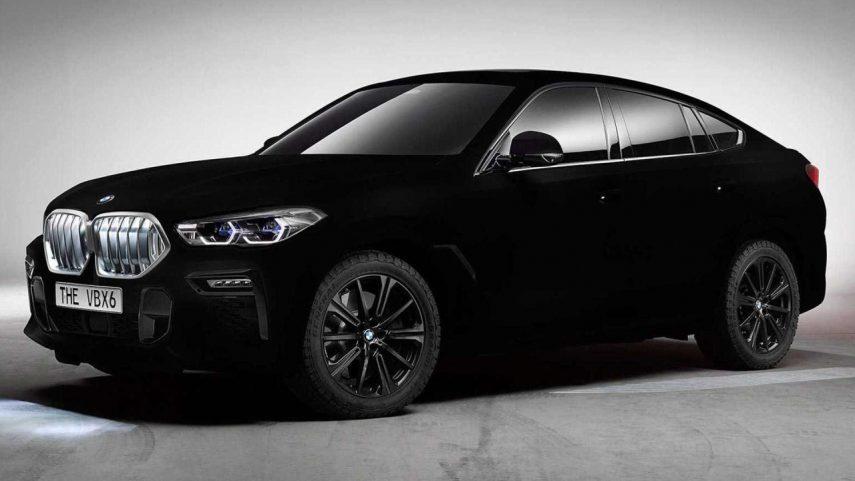 El BMW X6 Vantablack es incluso más negro que el propio abismo