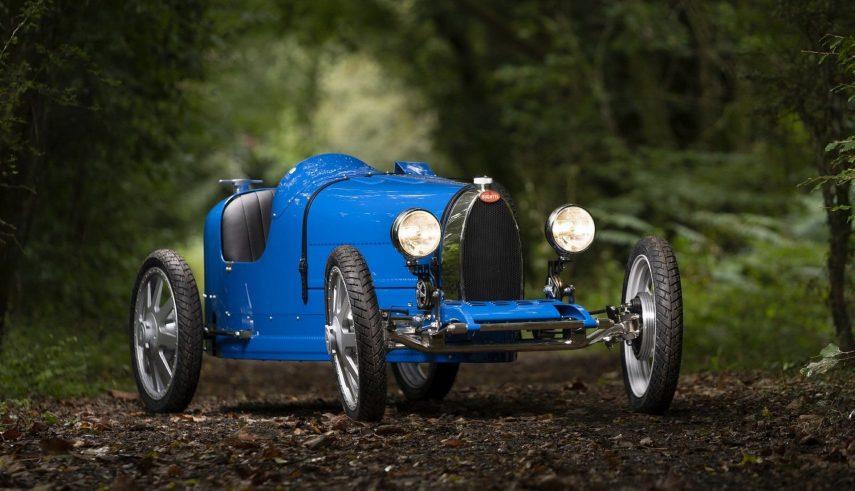 """Bugatti Baby II, un """"juguete"""" para los niños (y no tan niños) de gran soltura económica"""