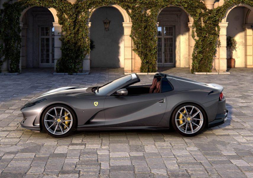Ferrari 812 GTS: 800 CV para disfrutar a cielo abierto