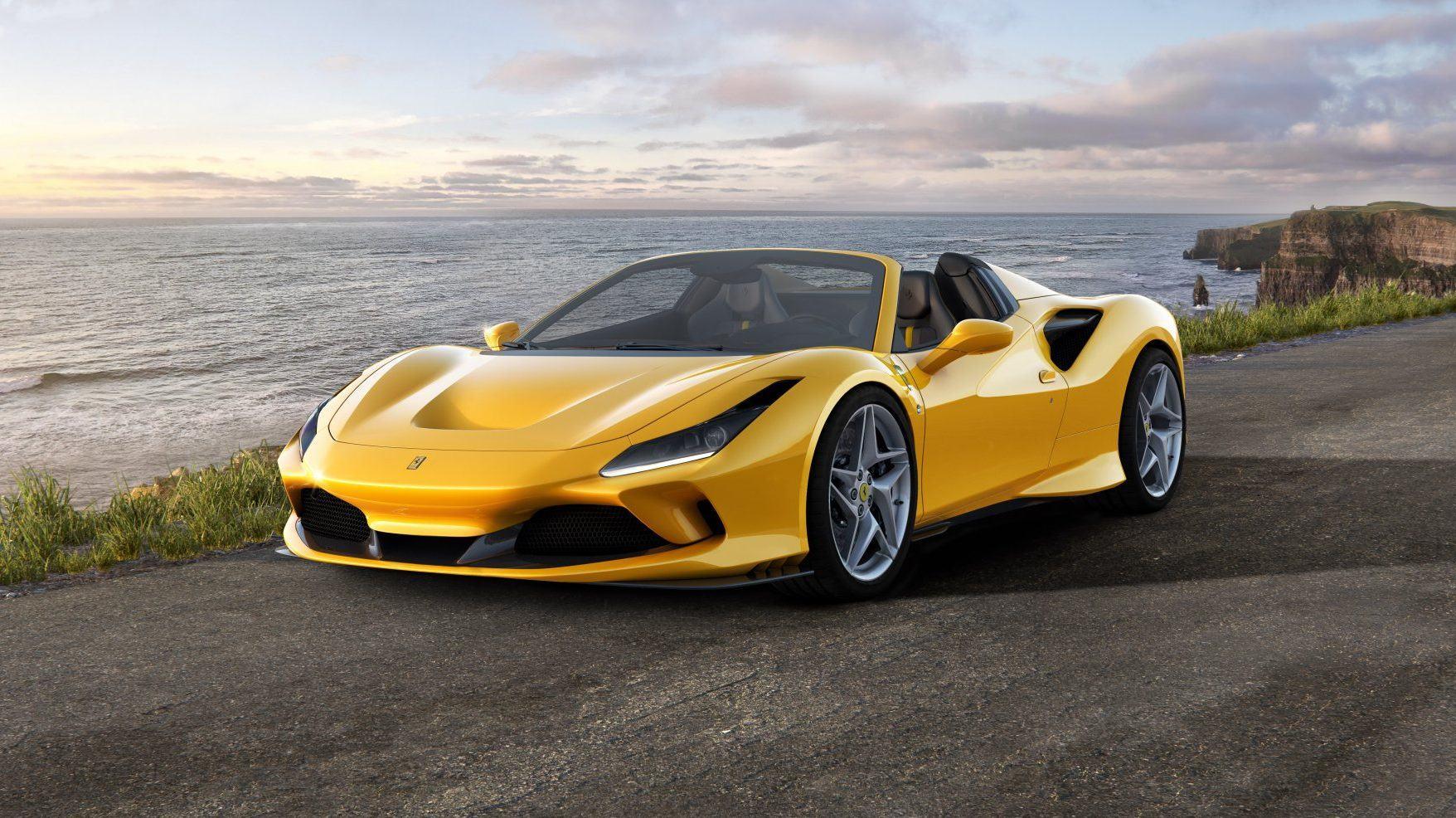 Nuevo Ferrari F8 Spider, mayor emoción a cielo abierto