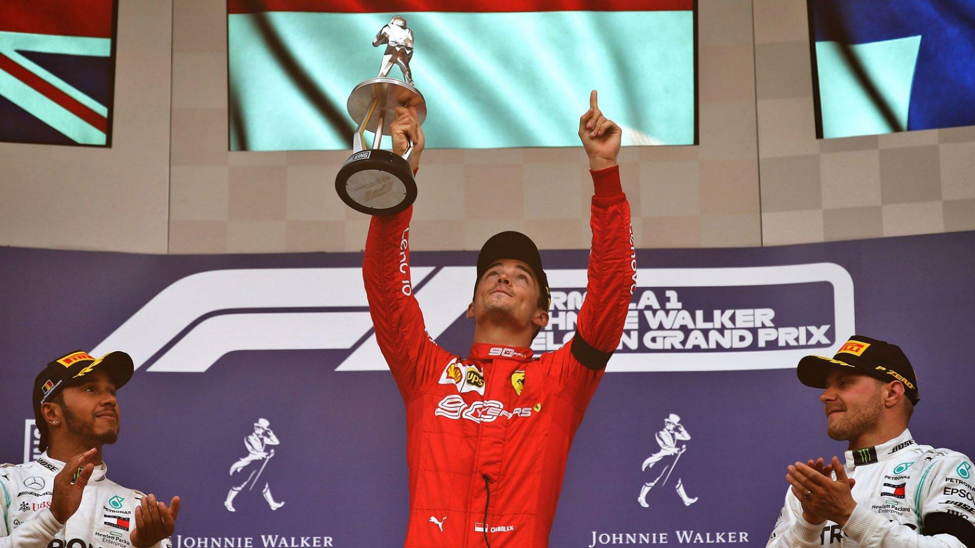 GP de Bélgica: Leclerc y Ferrari vencen por primera vez este año