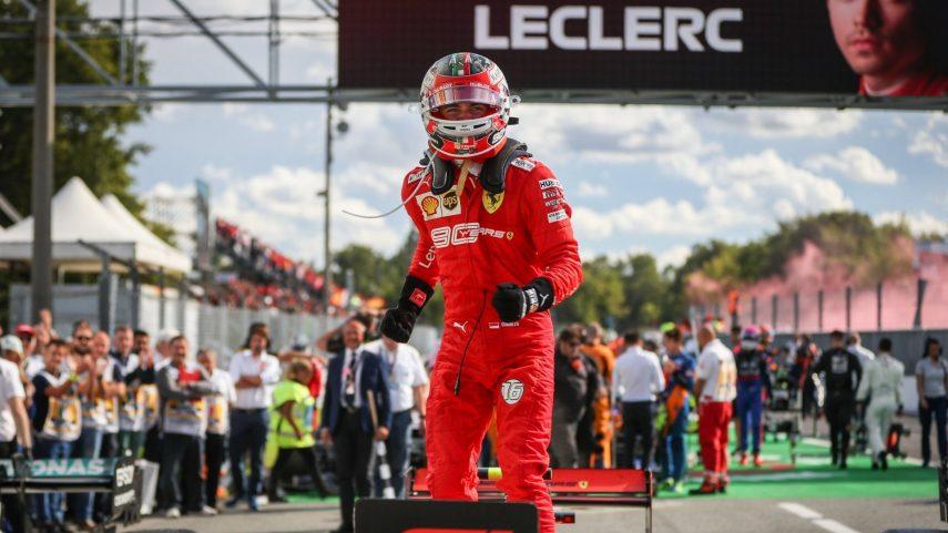 GP de Italia: Leclerc vuelve a vencer, ha nacido una estrella