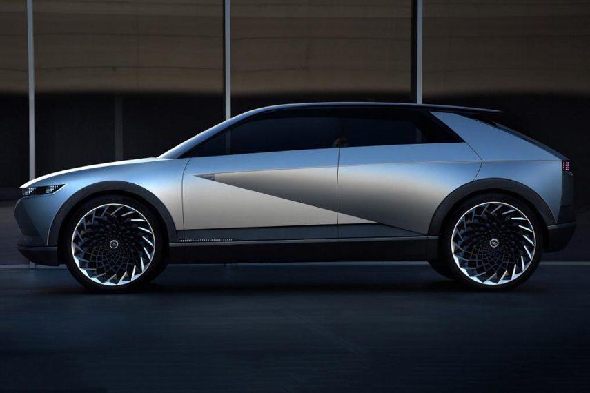 Hyundai 45 Concept, un vistazo atrás para mirar hacia el futuro