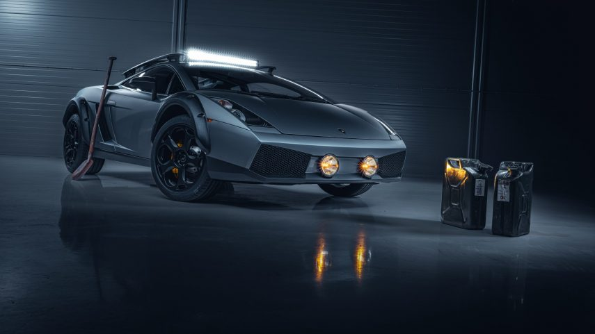 "Superdeportivo + estilo todoterreno = Lamborghini Gallardo ""Off Road Edition"""