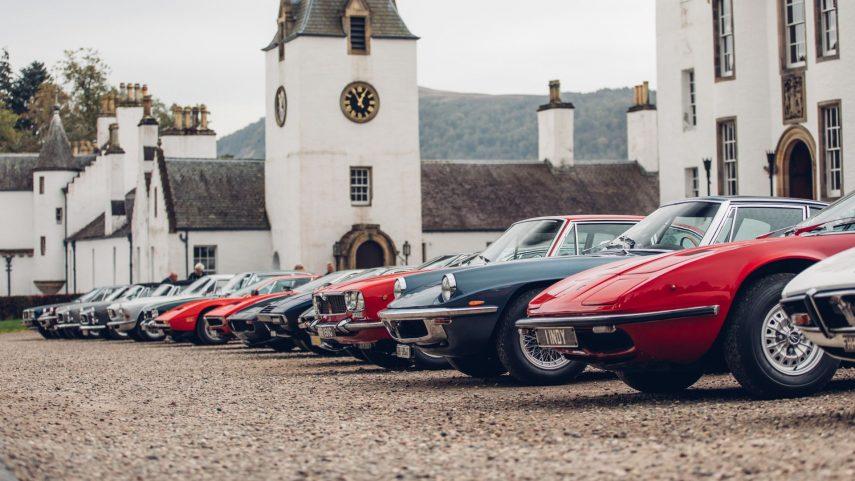 40º Maserati Internacional Rally, de paseo por Escocia
